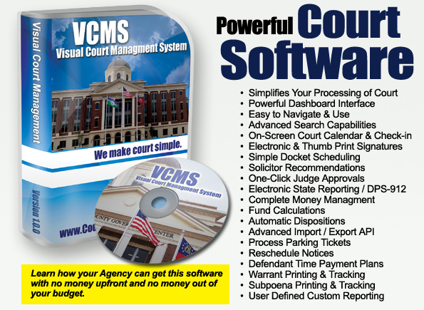 Visual Court Managment System
